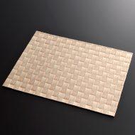 b5172-20-1 39.5×30.5オレンジ格子あみランチョン