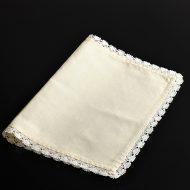 b5179-35-1 50.0×34.5黄麻縁白刺繍ランチョン