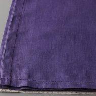 b6016-150-1 130x160麻紫色カットワーククロス