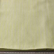 b6073-35-1 100x96生成りに黄緑ストライプクロス