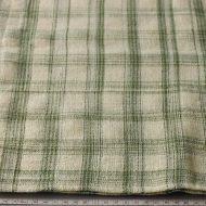 b6078-60-1 100x96ベージュに草色チェッククロス