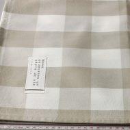 b6081-70-1 100x100ベージュ濃淡と白大チェッククロス