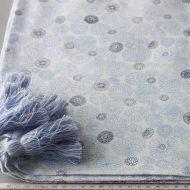 b6122-80-1 150x150白地に青花柄総付きクロス