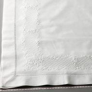 b6141-90-1 98x101白コットン縁花柄クロス
