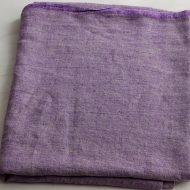 b6178 リトアニア麻紫クロス