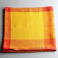 b6196-120-1 73.0x70.0北欧オレンジ/黄クロス