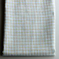b6197-60-1 140x105麻グレー/ブルーチェッククロス
