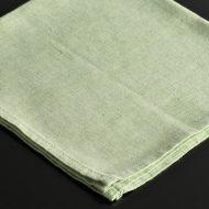 b7007-20-1 44.5x44.5薄緑しもふりナフキン