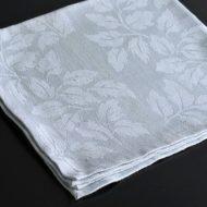 b7033-20-1 52.0x52.0極薄水色葉の地模様ナフキン
