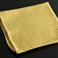 b7052-20-1 43.0x43.0黄色ワッフルナフキン