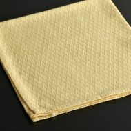 b7053-20-1 47.5x47.5MARIO VALENTINO黄色クロス地模様ナフキン