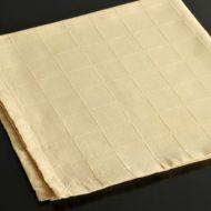 b7055-20-1 50.0x50.0黄色格子模様ナフキン