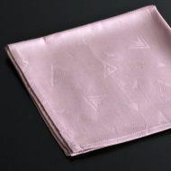 b7077-20-1 42.5x42.5幾何模様ローズナフキン