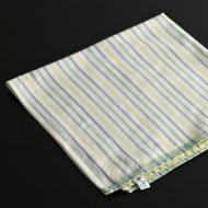 b7102-20-1 49.0x49.0三色ストライプナフキン(縁グリーン帯)