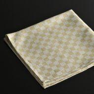 b7107-20-1 44.5x44.5薄草色市松ナフキン