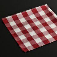 b7133-20-1 49.0x49.0赤白大チェックナフキン