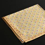 b7175-30-1 50.5x50.5黄地プロバンス風小花柄ナフキン