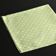b7200-20-1 54.0x51.0黄緑に白ドットナフキン