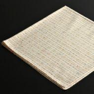 b7213-25-1 52.0x52.0薄ベージュ色糸ナフキン