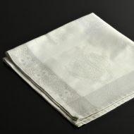 b7222-90-1 53.5x53.5白/クリームポット柄ナフキン