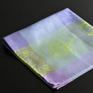 b7226-90-1 57.0x57.0紫/黄緑ポット柄ナフキン