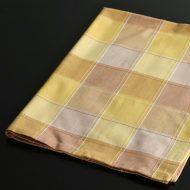 b8026-30-1 74.0×52.5オレンジ黄チェックチェックキッチンクロス