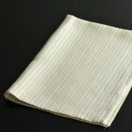 b8027-45-1 65.0×46.0麻ベージュ/水色キッチンクロス