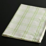 b8033-20-1 67.0×47.0黄緑チェックキッチンクロス
