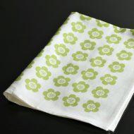 b8079-90-1 68.0×49.0form&design黄緑花柄キッチンクロス