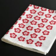 b8080-90-1 70.0×49.0form&design赤花柄キッチンクロス