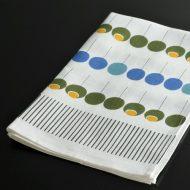 b8083-90-1 71.0×47.0almedahls 麻水色/ストライプキッチンクロス