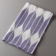 b8137-50-1 65×45ZIZI 薄紫白柄キッチンクロス