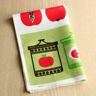 b8150-60-1 74×47almedanlsりんご麻キッチンクロス