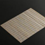 b9012-15-1 44.0×33.0薄茶むらさき巻きすランチョン