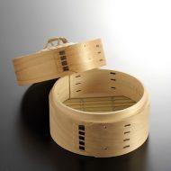 c1096-30-1 φ15.5x6.8木製一段セイロ