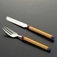 d5065-20-2 f19.0x2.4他黄に赤青入りナイフ、フォーク