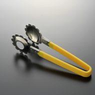 d9016-35-1 21.0x5.8持ち手黄プラスチックトング