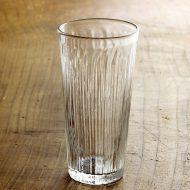 g1015-90-1 φ6.2x12.0ストライプロンググラス(西山芳浩)