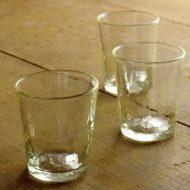 g1095-70-3 φ7.5x9.0うろこグラス (石川硝子工藝社)