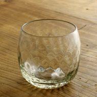 g1234-60-1 φ8.7x8.0口広立てライン冷茶グラス(でく工房)