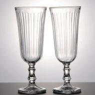 g1556-25-2 φ5.8x15.5ストライプシャンパングラス
