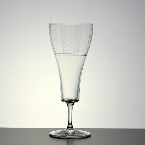 g1564-120-2 φ6.5x16.0口広グラベルシャンパングラス