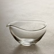 g2014-30-1 8.7x7.8x4.5うすガラス片口 小 井上 美樹