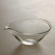 g2015-30-1 10.2x8.3x4.2  うすガラス片口 中、 井上 美樹