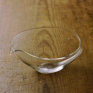 g2016-75-1 15.5x13.8x6.1うすガラス片口 中、小 井上 美樹