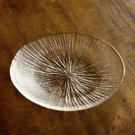 g3010-15-1 φ15.3放射模様ガラス皿 小