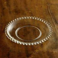 g3036-25-1 φ18.8縁丸飾りガラス皿 S