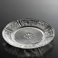 g3044-15-4 φ15.0八ッ割柄ガラス取皿