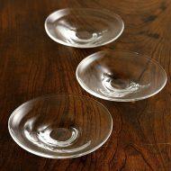 g3139 変形ガラス小皿