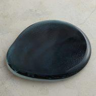 g3149 ガラス板皿ブルー(小林裕之)